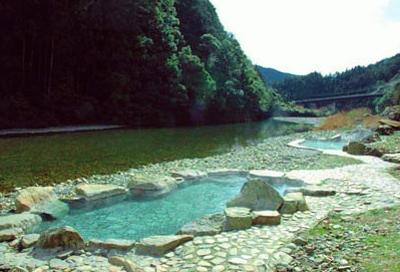 Beautiful river and pools